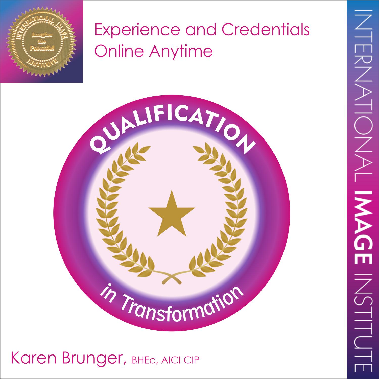 training - qualification